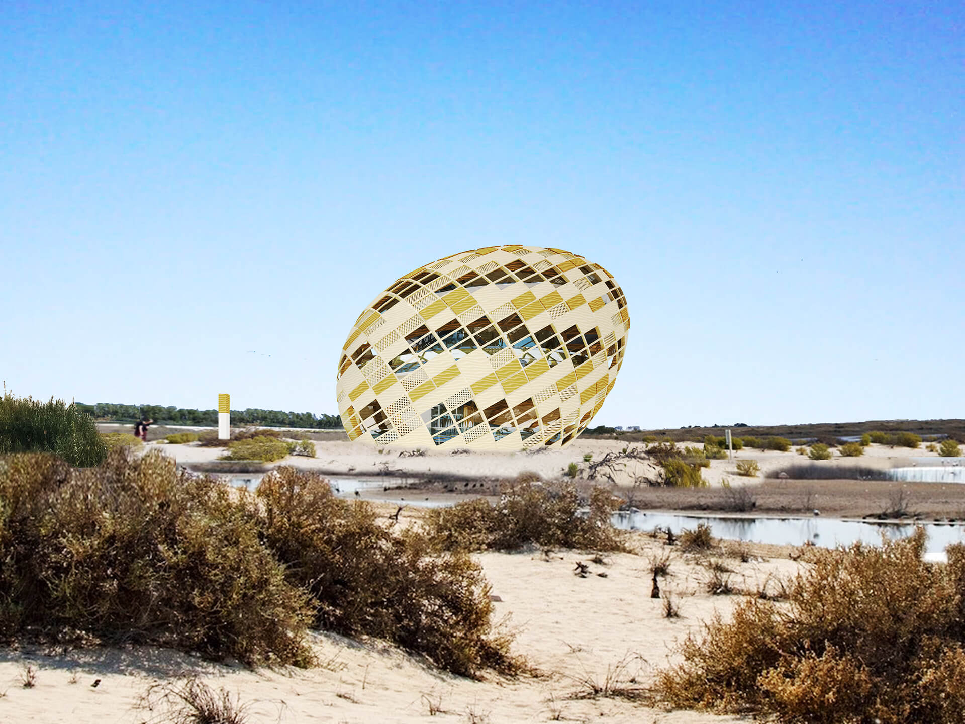 ABU DHABI flamingo tower